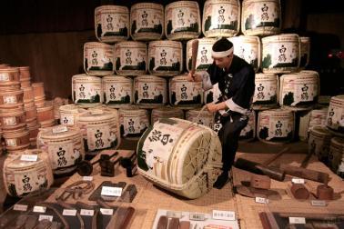 Hakutsuru Sake Brewery Tour