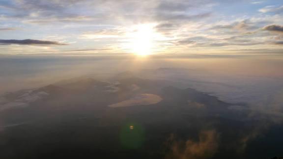 Lever de soleil Mont Fuji