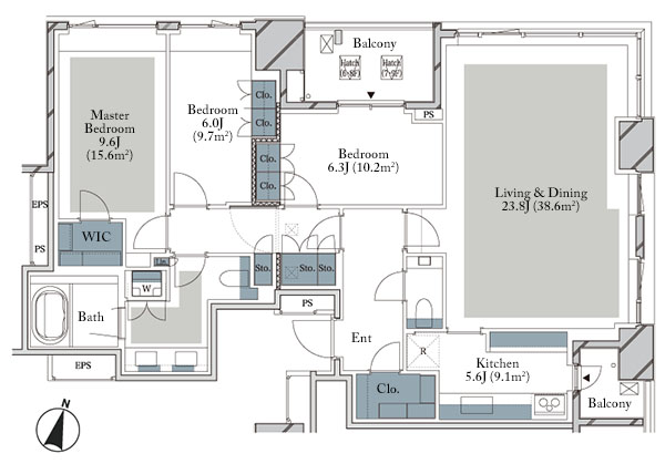 Branz The House Ichibancho De Floorplan