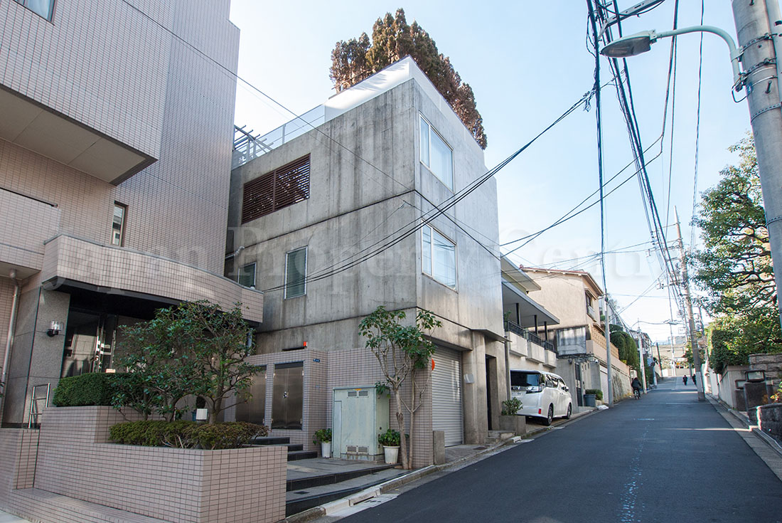 For sale designer home with roof terrace in minamiazabu for Terrace house japan cast