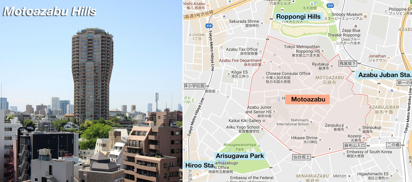 The most expensive addresses in Tokyo to buy an apartment ...
