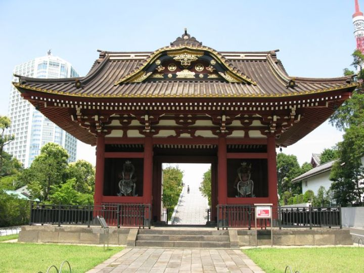 The Main Entrance to Daitoku-in as it looks today.