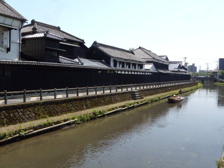This isn't Sendai's warehouse, but this is more or less what the area would have looked like in the Edo Period.