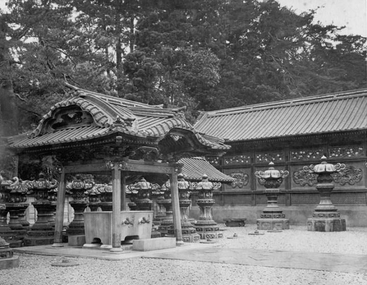 The suibansha bunshoin tokugawa ienobu grave