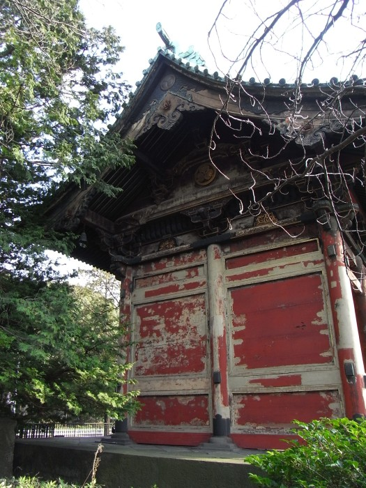 Grave of Tokugawa Ietsugu destroyed