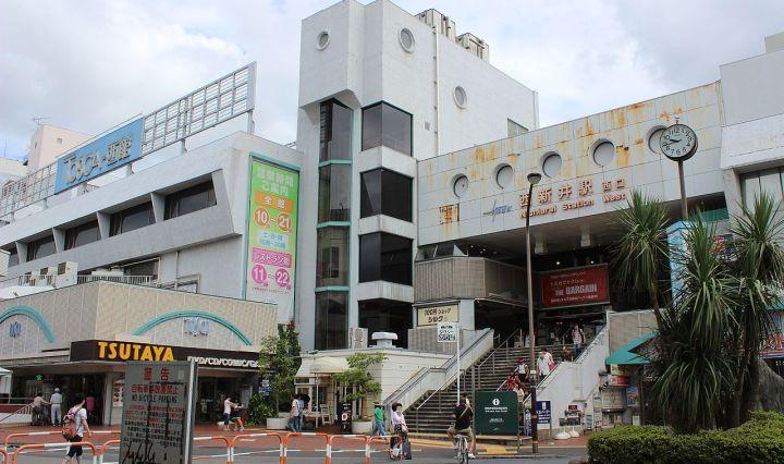 nishi arai station west exit