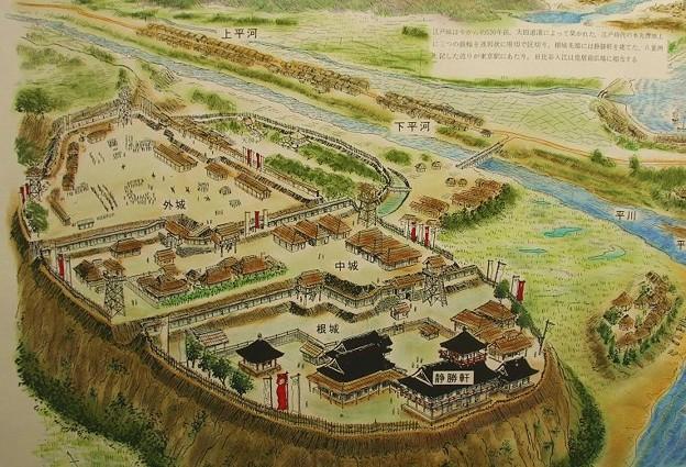 "Ieyasu obviously new about Ota Dokan's ""castle,"" but you can just imagine him seeing the150 year old ruins for the first time and being like ""shiiiiiiiiiiiiiiiiiiiiiiit."""