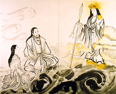 Ame-no-minaka-nushi-no-kami is one of the most mysterious and elusive kami.