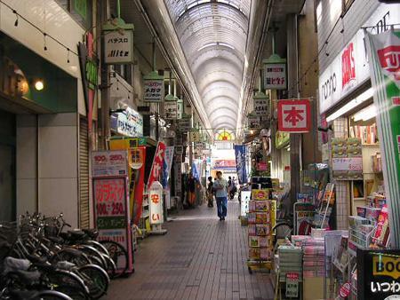Asagaya's famous shopping street.