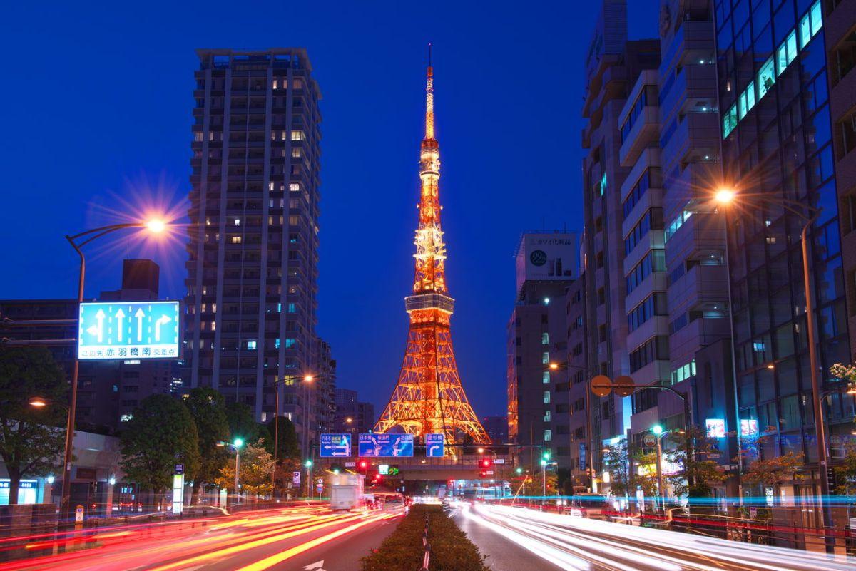 akabanebashi sakurada-dori tokaido tokyo tower