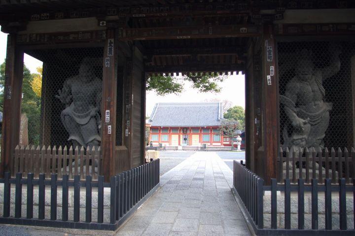 The Nio Gate of Hosen-ji