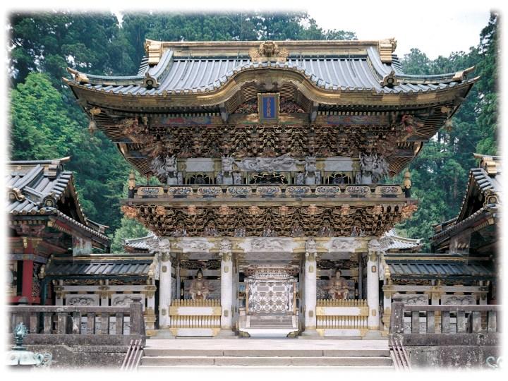 Nikkō Tōshō-gū. Dedicated to the great gongen of the deified Tokugawa Ieyasu.