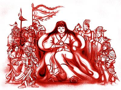 A modern rendering of Hari Saijo