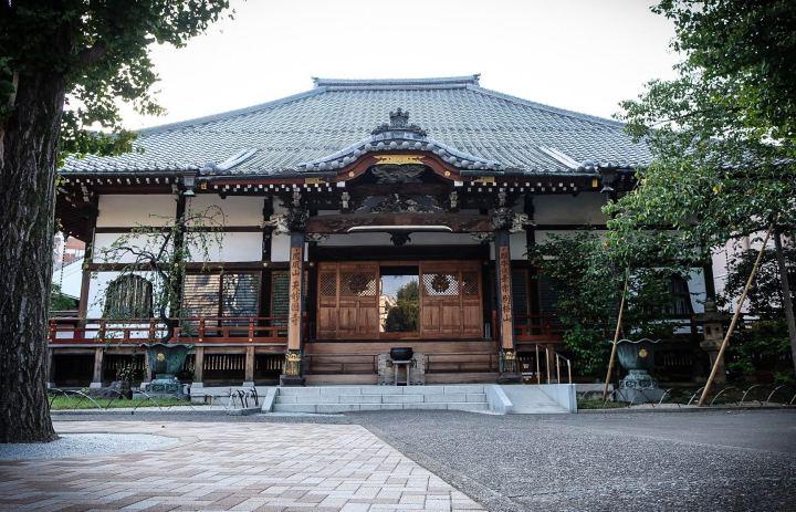 tenmyokokuji shinagawa - what does aomonoyokocho mean