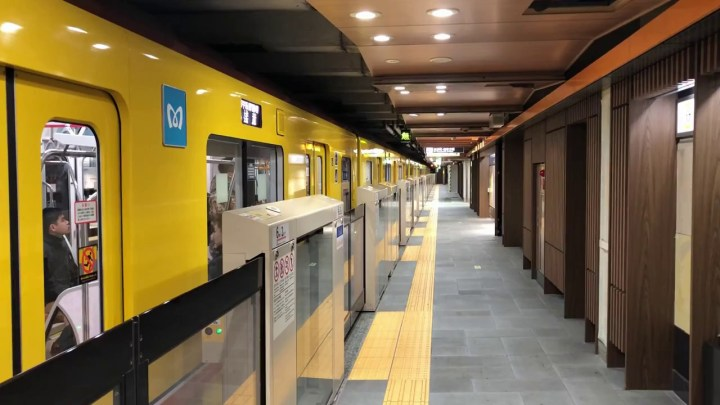 inaricho station ginza line
