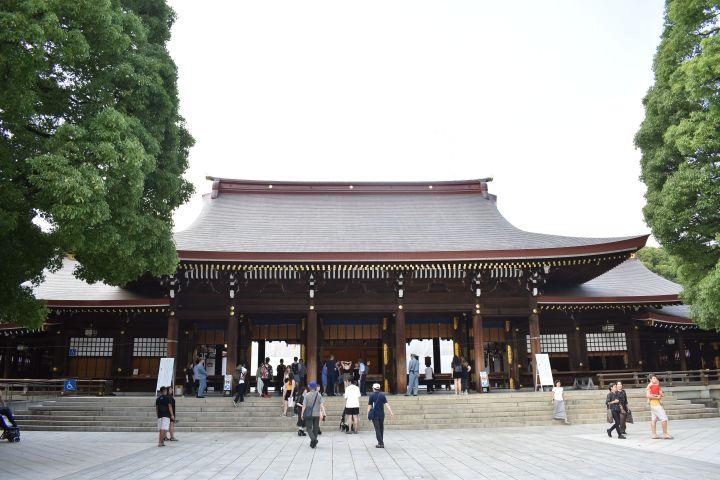 meiji imperial shrine harajuku