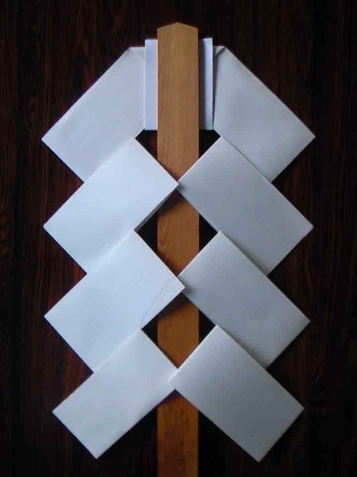 go-hei - sacred white paper