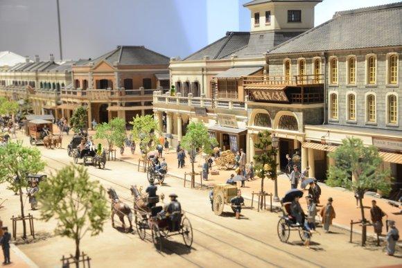 Ginza Brickstreet in the Meiji Period