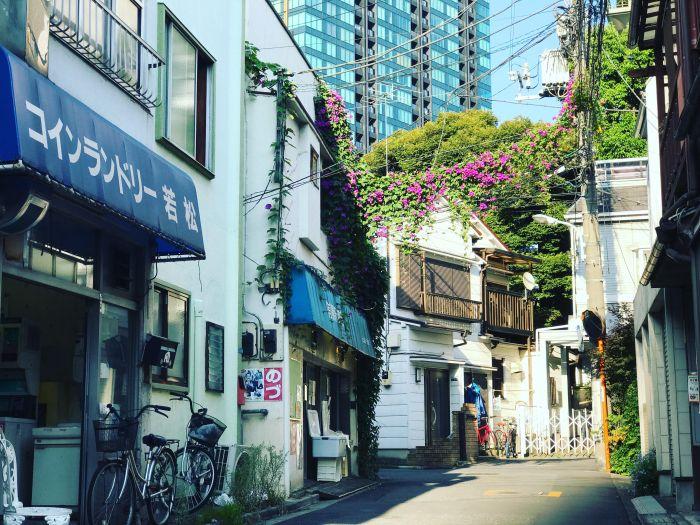 tokyo shitamachi neighborhood mita koyama-cho