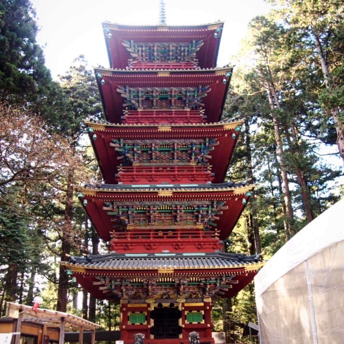 pagoda at toshogu nikko day trip