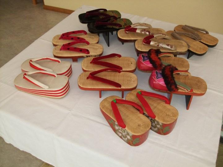 walk the tokaido edo period shoes
