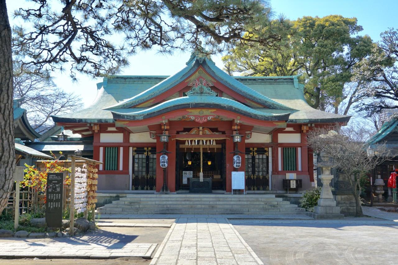 walk the tokaido shinagawa shrine