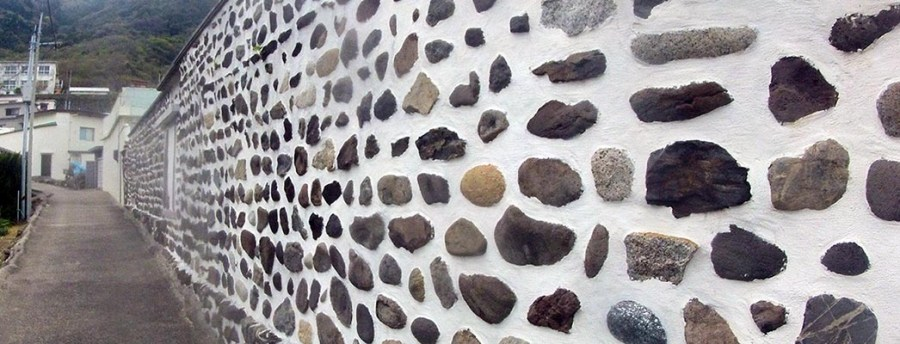 Stone Wall on Iwai Island