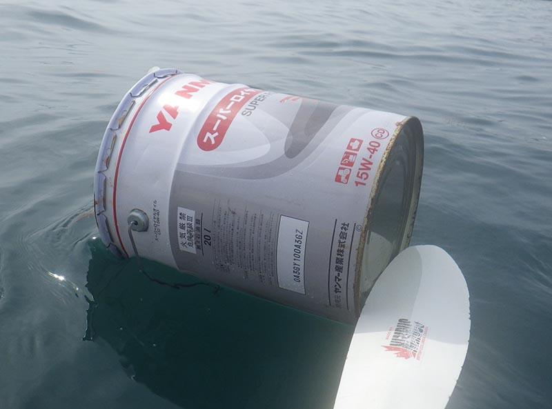 Floating Japanese Engine Oil