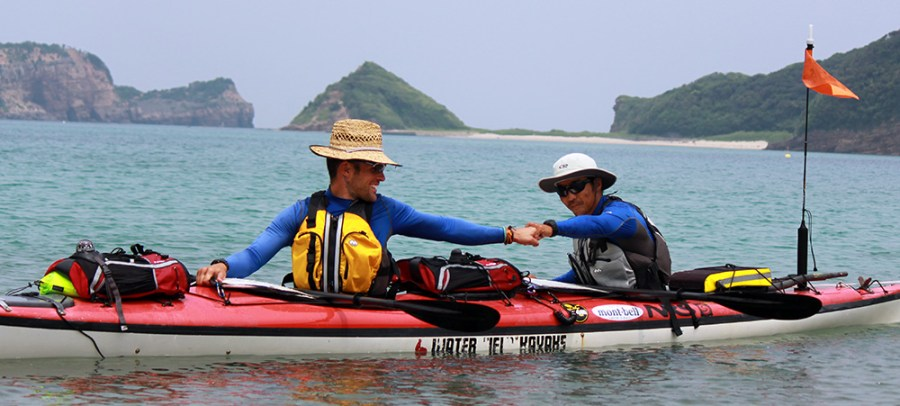 Arriving at Iki Island