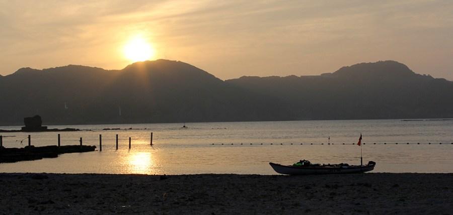 Sunset on Iki Island