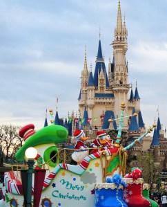 ディズニーランド・クリスマスパレード