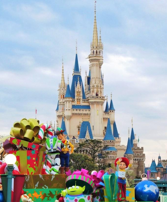 ディズニークリスマスパレード・トイストーリー