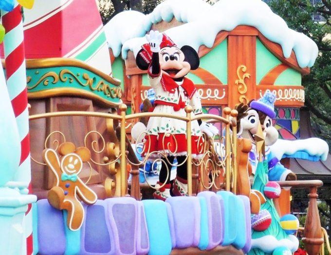 ディズニークリスマスパレード・ミニー
