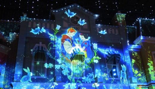 ☆白雪姫☆Snow White ディズニーランド「セレブレーションストリート」プロジェクションマッピング