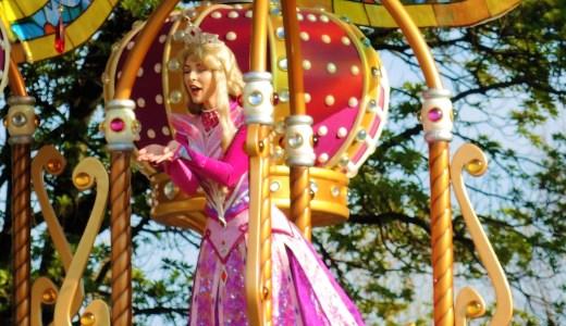 👗★眠れる森の美女★オーロラ姫☆Sleeping Beauty☆Princess Aurora ディズニーランド「ドリーミング・アップ!」