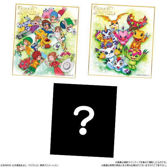 Bandai Japan Digimon Adventure NEW Shikishi Paper Art AIRMAIL TO USA OKAY