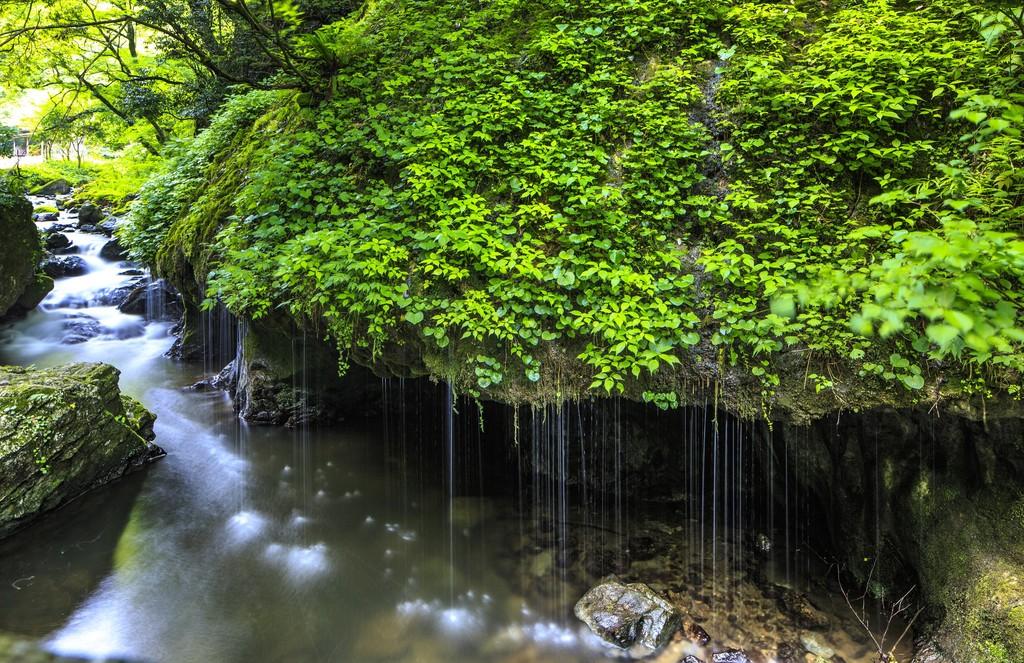 Kanbano Falls Okayama-Ken