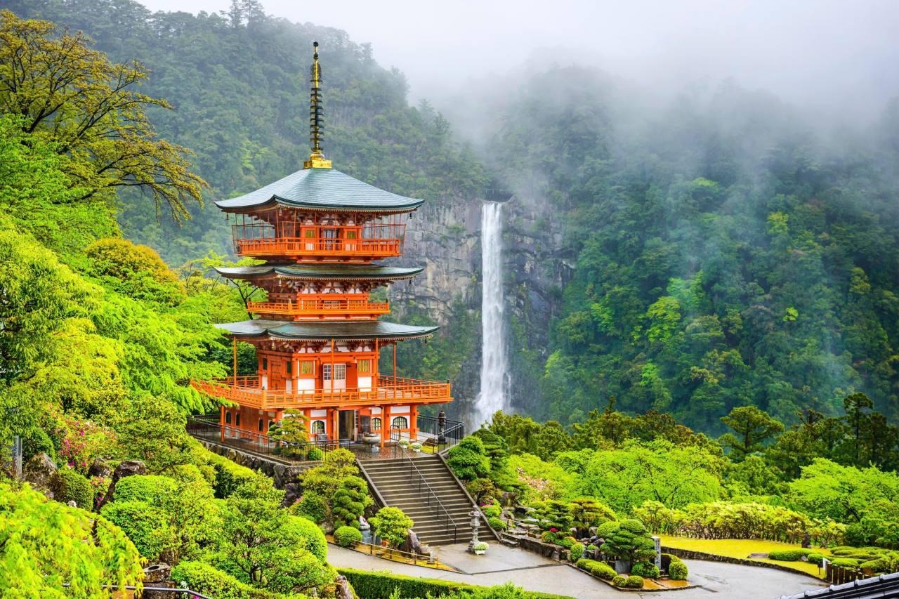 Nachi Falls em Wakayama-ken