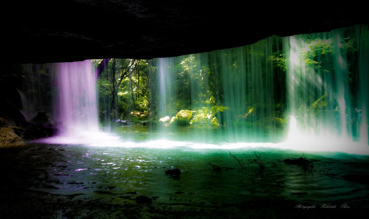 Nabegataki Falls Kumamoto-Ken