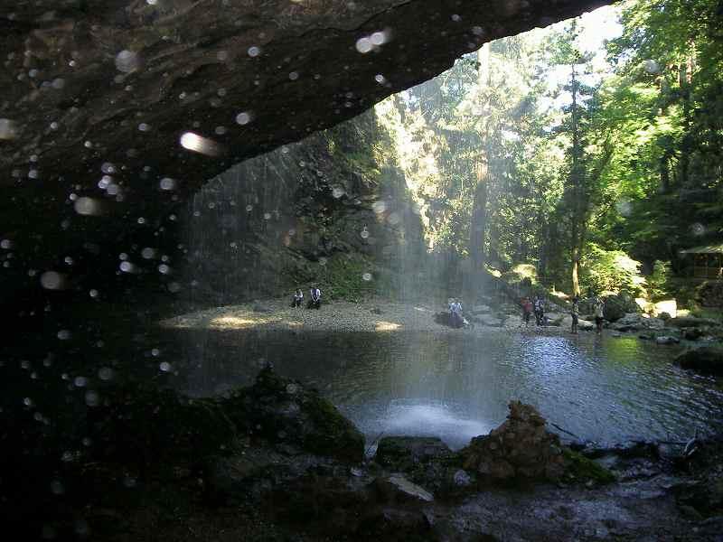 Ryuzugataki Falls Shimane-Ken
