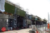 Sensitive spot big scale high way construction, Kenoudou accross Shinkansen. (24)