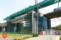 Sensitive spot big scale high way construction, Kenoudou accross Shinkansen. (4)