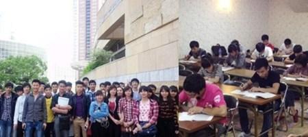 Filipinos study in Japan
