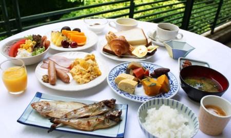 Japanese breakfast meals