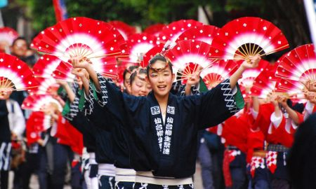 Japan's festive celebrations in May