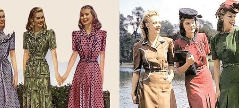 Fashion Styles of Women during World War II
