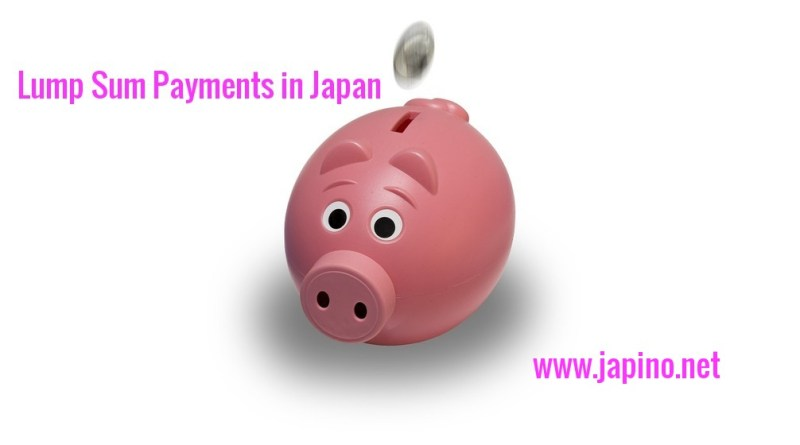 Lump Sum Payments in Japan