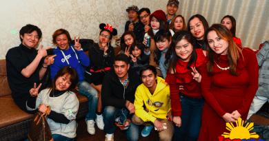 Filipino / Vietnamese Trainees New Year Party