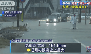 """Heaviest rainfall on this year results to """"spring storm"""" to certain areas"""