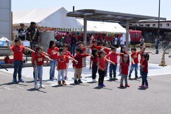Special number performed by Agape Pre-school Kids